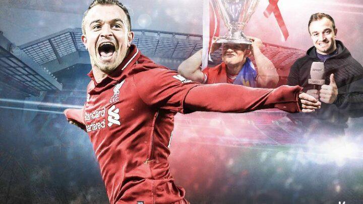 Sport1 entrevista a Shaqiri previo al Liverpool vs Bayern Múnich.
