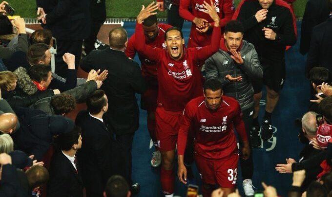 Virgil van Dijk: El Liverpool es mi club y estoy orgulloso de llevar su camiseta todos los días.