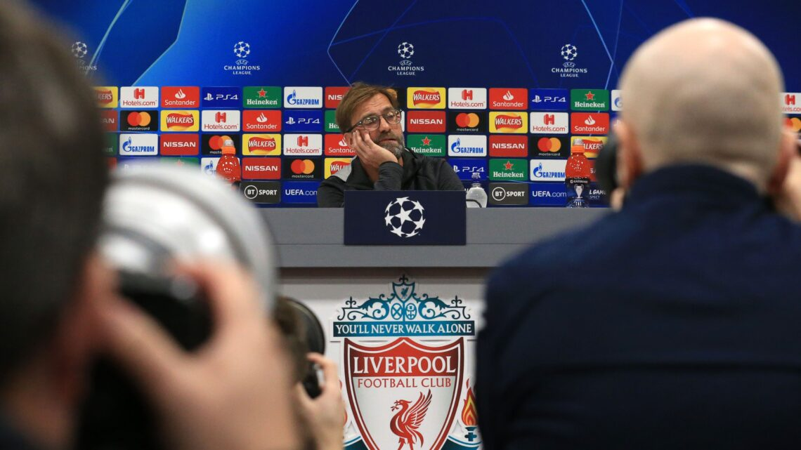 Rueda de prensa Champions Liverpool vs Napoli