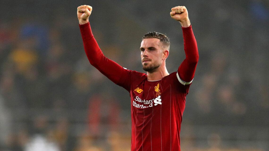 Wijnaldum «Henderson es un jugador y capitán fenomenal.»