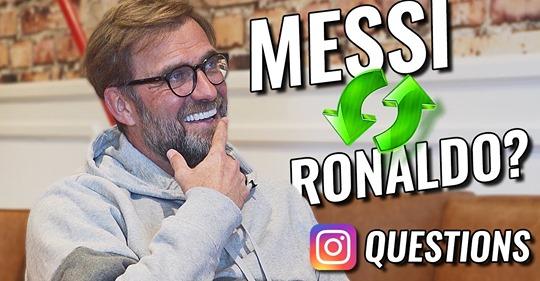 Klopp ¿Messi o Cristiano Ronaldo?