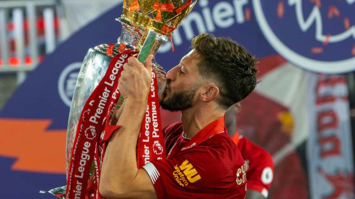 Adam Lallana y la triste despedida del Liverpool